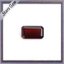 Excellent Emerald Cut Natural Garnet Precious Gemstone