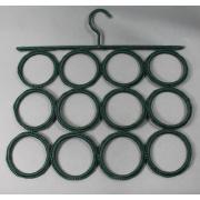 12 agujeros de la bufanda de la tela