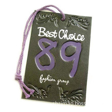 Best Choice Swing Tag with Purple String