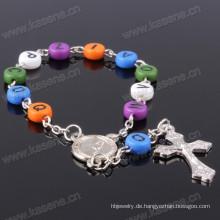 Konkurrenzfähiger Preis-Handketten-Art- und Weiseentwurfs-Buchstabe bördelt Armband