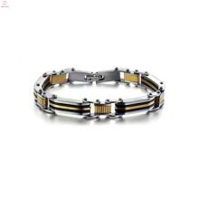 Pulseira de amizade extra ampla na moda, pulseira magnética