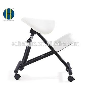Saddle Seat Ergonomic Kneeling Chair, taburete ajustable para el hogar, la oficina y la meditación (Malla)