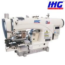 Schrittmotor-Aufsatz Kettenstich-Untersaum-Nähmaschine