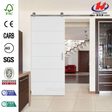Aluminium Glass  Interior Sliding Barn Door