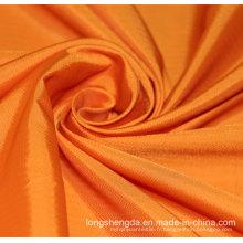 Tissu en sergé Tissé Plain Check Oxford Outdoor Jacquard 100% Tissu en Polyester (53141)
