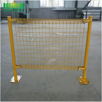 PVC Dilapisi BRC Roll Top Fence