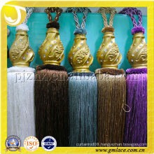 China Haberdashery Silk Thread for Cotton Curtain Tassel Tieback