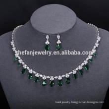ZheFan wholesale wedding dress jewelry sets dubai custom jewelry set
