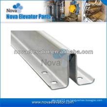 Levante el carril hueco de la guía, el carril hueco del elevador, el carril del contrapeso del elevador, las piezas del elevador