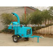 Измельчитель древесины, одобренный CE, с приводом от двигателя дизельного топлива и приводом от двигателя RXDWC-8/18/22/40