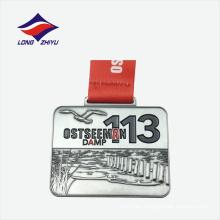 Fabricante de aleación de zinc cusotm logo medal