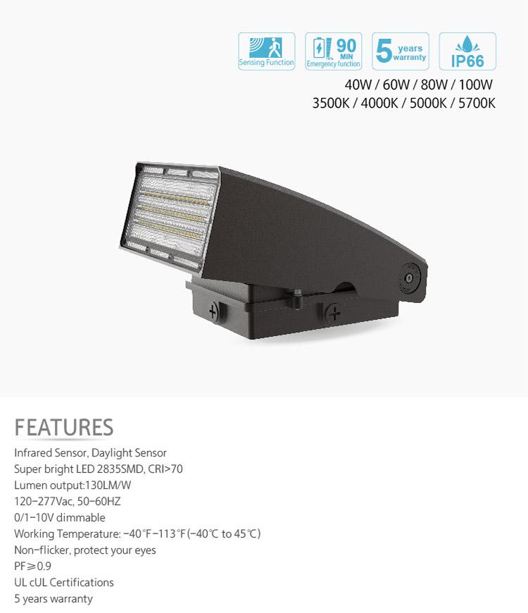 3000k Wall Pack Light