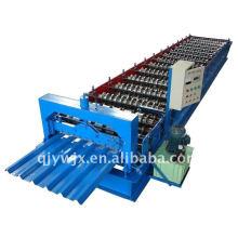 QJ 840 cor de aço rolo cnc dá forma à máquina