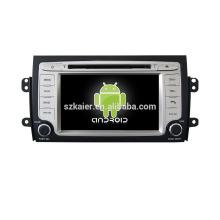 Quad core! Dvd do carro com link espelho / DVR / TPMS / OBD2 para 7 polegadas tela sensível ao toque quad core 4.4 Android sistema Suzuki SX4