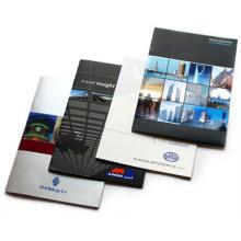 Brochure d'impression de livre coloré de fabricant