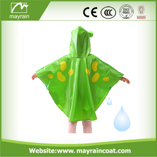 Cartoon Colorful Poncho