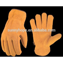 Sunnyhope cow split leather driving gloves