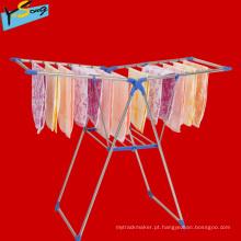 Lojas de Fábrica Centro Foldable roupas Rack