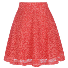 Kate Kasin Women Ladies Floral Pattern Lace Skirt A-Line Latest Skirt Design Pictures KK000445-2