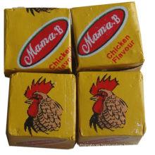 Cubo y polvo del sabor del pollo de Halal de China Supplier