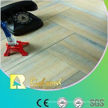 Household 12mm Embossed Oak Waxed Edged Lamianted Flooring