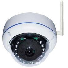1.3mp Mini 720p 4mm Vandal Proof Dome Camera , Plug & Play Wireless Wifi Ip Camera