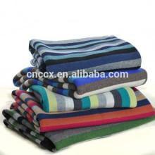15BLT1018 striped baby cashmere blanket