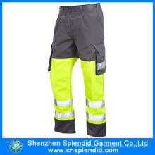 OEM Vestuário Manufacturing Olá Vis Cargo baratos trabalho calças