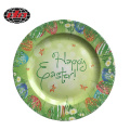 Happy Easter Plastic Charger Plate