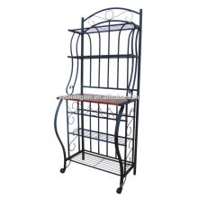 Living Room Metal Iron Storage Shelf Knocked Down for Sale