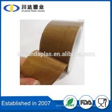 Uso de máscara e fita de teflon de isolamento térmico de lado único adesivo