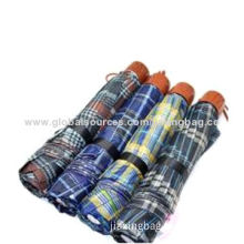 Manual Folding Umbrellas with Manual Open, 190T Polyester, Silkscreen PrintingNew