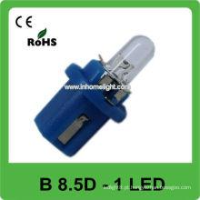 12V B8.5D azul conduziu luz do traço