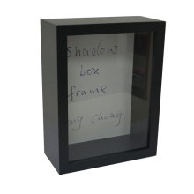 Black Shadow Wooden Box for Home Deco