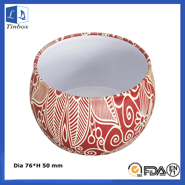 Cheap Round Candle Tin Box Wholesale