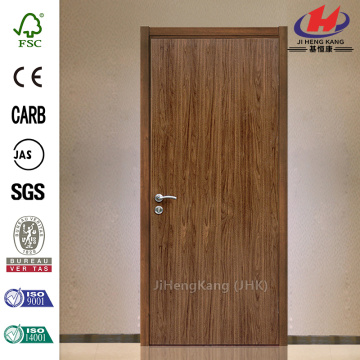 Chinese Teak Wood Frame Interior Door