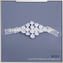 Fashion Crystal Rhinestone applique Bikini swimwear Connectors