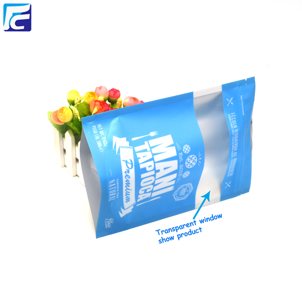 Wholesale Stand Up Pouch Custom Printed Empty Tea Ziplock Bag