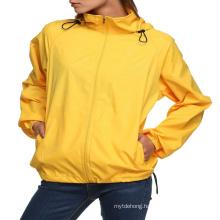 Sports Women′s Super Light Quick Dry Anti-UV Waterproof Trekking Jacket