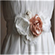 Kristall Frauen Kleid Schärpe Hochzeit Handgefertigte Strass Satinband Braut Gürtel
