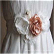 Кристалл Женщины Платье Поясом Свадебные Ручной Работы Горный Хрусталь Атласной Лентой Свадебные Пояса