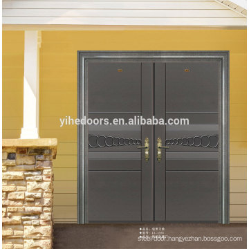 LUXURY double entry stainless steel security door