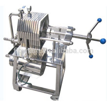 multi-layer stainless steel plate and frame filter press machine