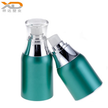 Colorful airless bottle acrylic plastic cosmetic custom made packaging with good price