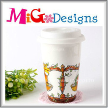 Newest Fashion Ceramic Traveling Mug