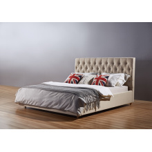 Simple Design Bed, Fabric Bed, Ciff Bed, China Bed (A01)