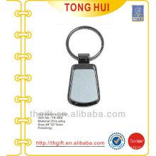 Soporte de llave metálica en blanco