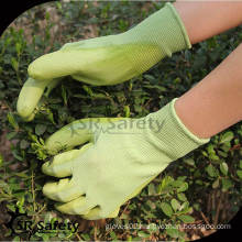 SRSAFETY 13G Knitted Nylon Gloves 4131,PU Working Gloves