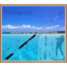 CTR013 2pcs, 8 + 1 guides, bâton de pêche de bâti