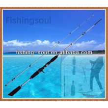 CTR013 2pcs, 8+1 Guides, Casting Fishing Rod